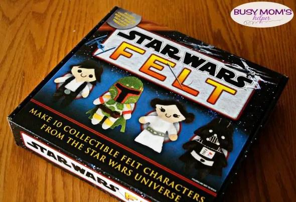 Star Wars Felt Kit / Great star wars gift idea