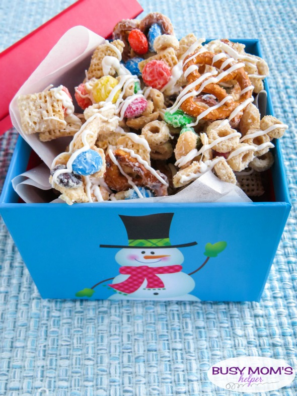 Christmas Snack Mix Recipe