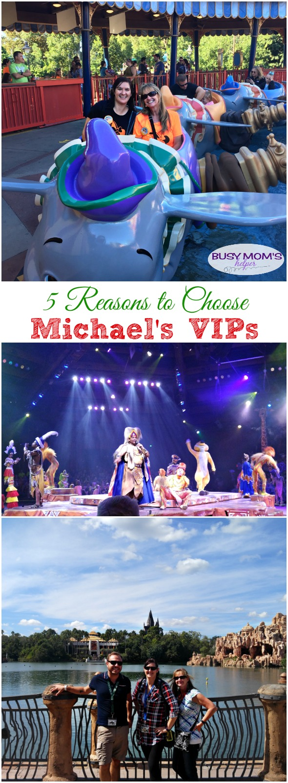 10 Reasons to Choose Michael's VIPs #hosted
