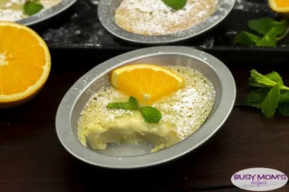 Orange Sponge Cake / a refreshing dessert recipe