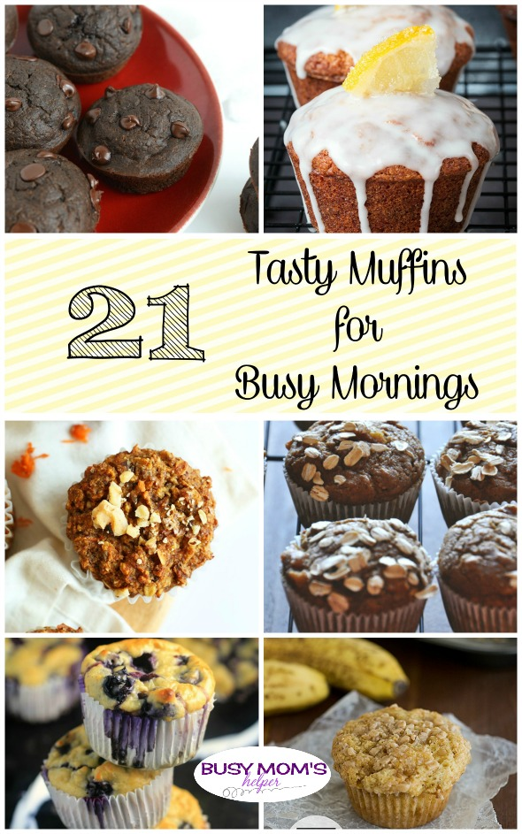 21 Tasty Muffins for Busy Mornings - Busy Mom's Helper