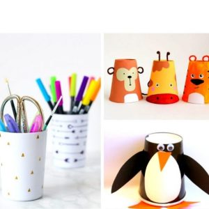 20 Easy & Adorable Cup Crafts for Kids