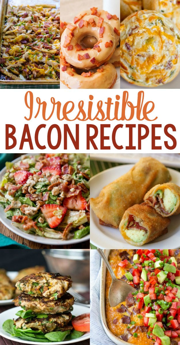 20+ Irresistible Bacon Recipes