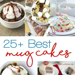 25+ of the Best Mug Cake Recipes
