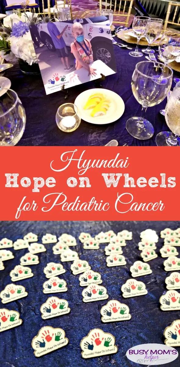 Hyundai Hope on Wheels for Pediatric Cancer #sponsored #endchildhoodcancer