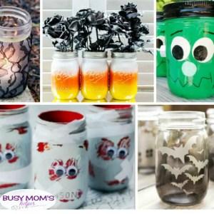 20 DIY Halloween Mason Jars