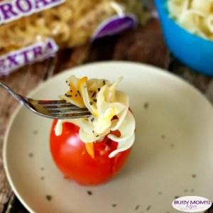 Noodle Stuffed Tomatoes