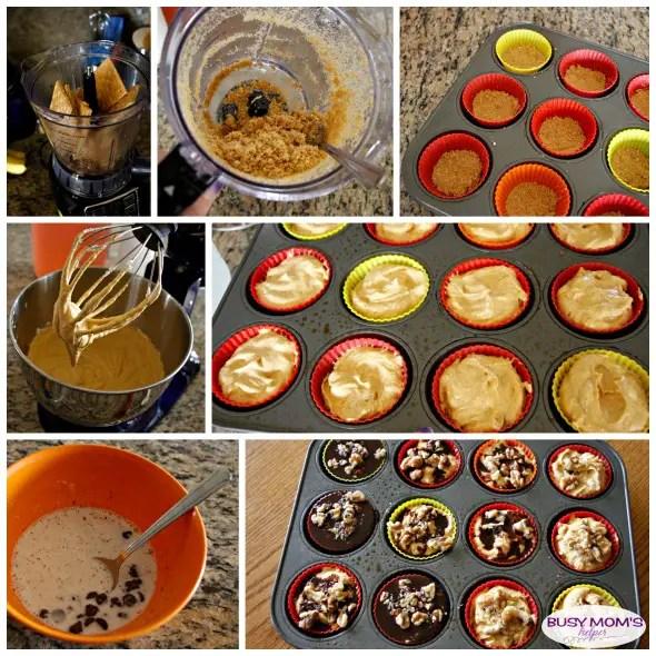 Chocolate Pumpkin Mini Pies, a great Thanksgiving dessert recipe!