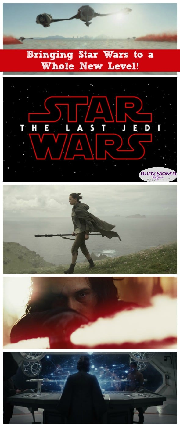 The Last Jedi: Bringing Star Wars to a Whole New Level (Disney Partner)