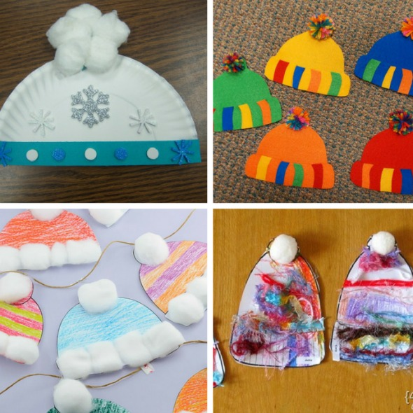 12 Winter Hat Kid Crafts Busy Moms Helper