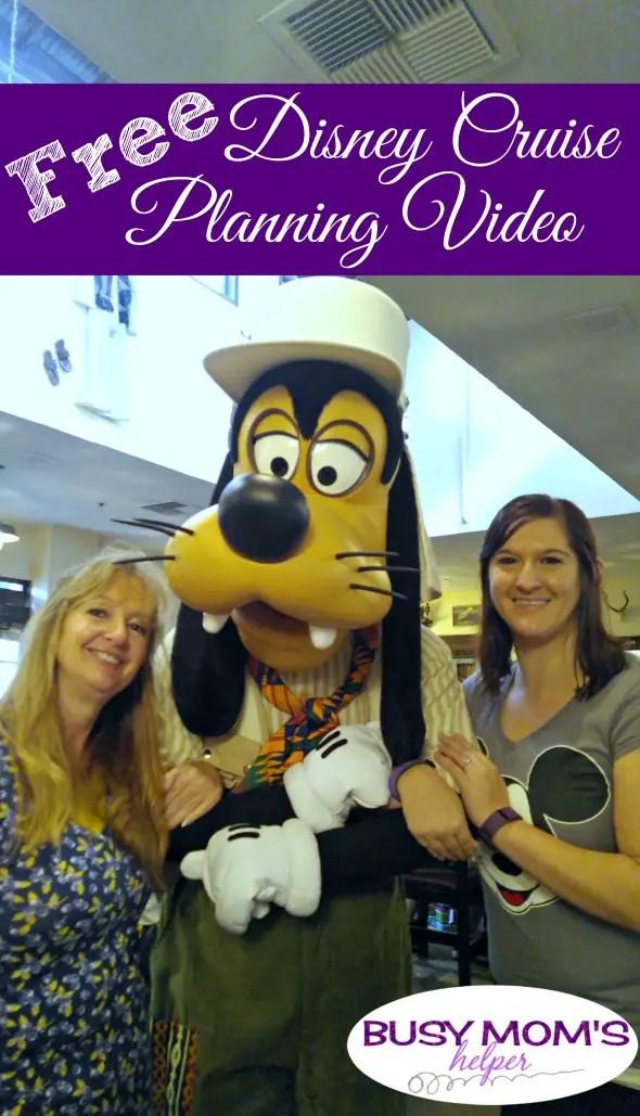 FREE Disney Cruise Planning Video #disneycruise #vacation #planning #familyvacation