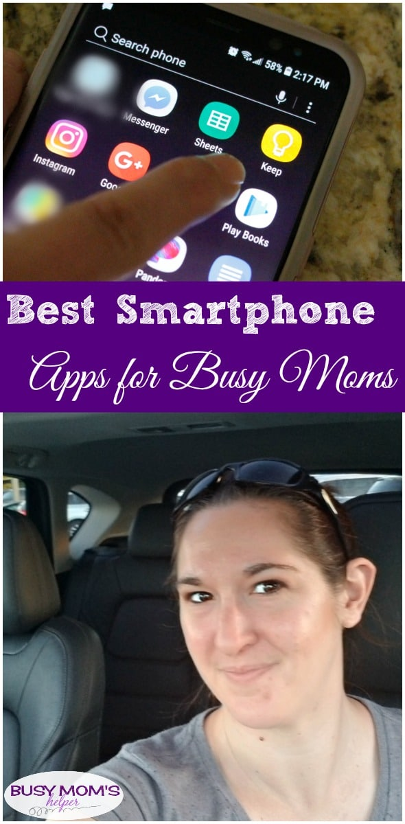 Best Smartphone Apps for Busy Moms #busymoms #apps #smartphone #technology #mom #parenting #busylife #smartphoneapps