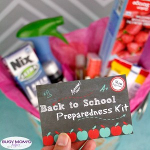 Back to School Preparedness Basket