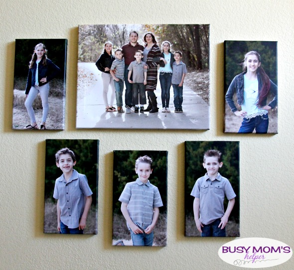 Canvas Wraps make a perfect gift for any occasion, and help add memories to your walls! #AD #CanvasDiscount #CanvasWrap #photos #decorating #CanvasPrint