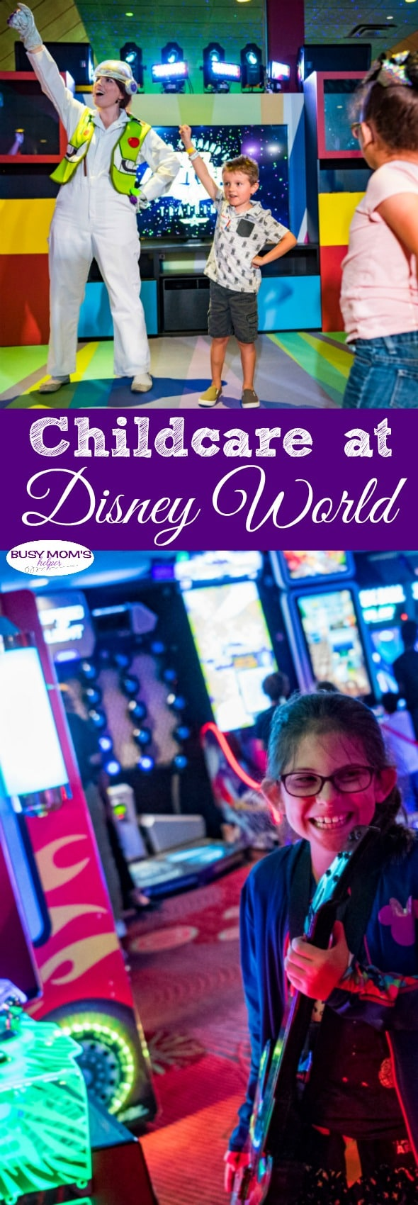 Childcare at Disney World - there's more options than you think! #waltdisneyworld #familytravel #disneytrip #wdw