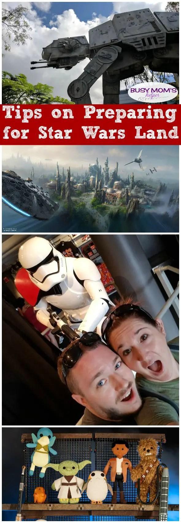 Tips for Preparing for Star Wars Land #starwars #waltdisneyworld #disneyland #starwarsland #disneytrip #disneyparks #hollywoodstudios #familytravel