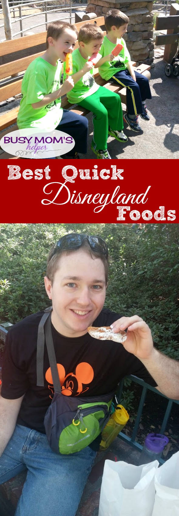 Best Disneyland Foods in a Hurry #disneyland #disneyfood