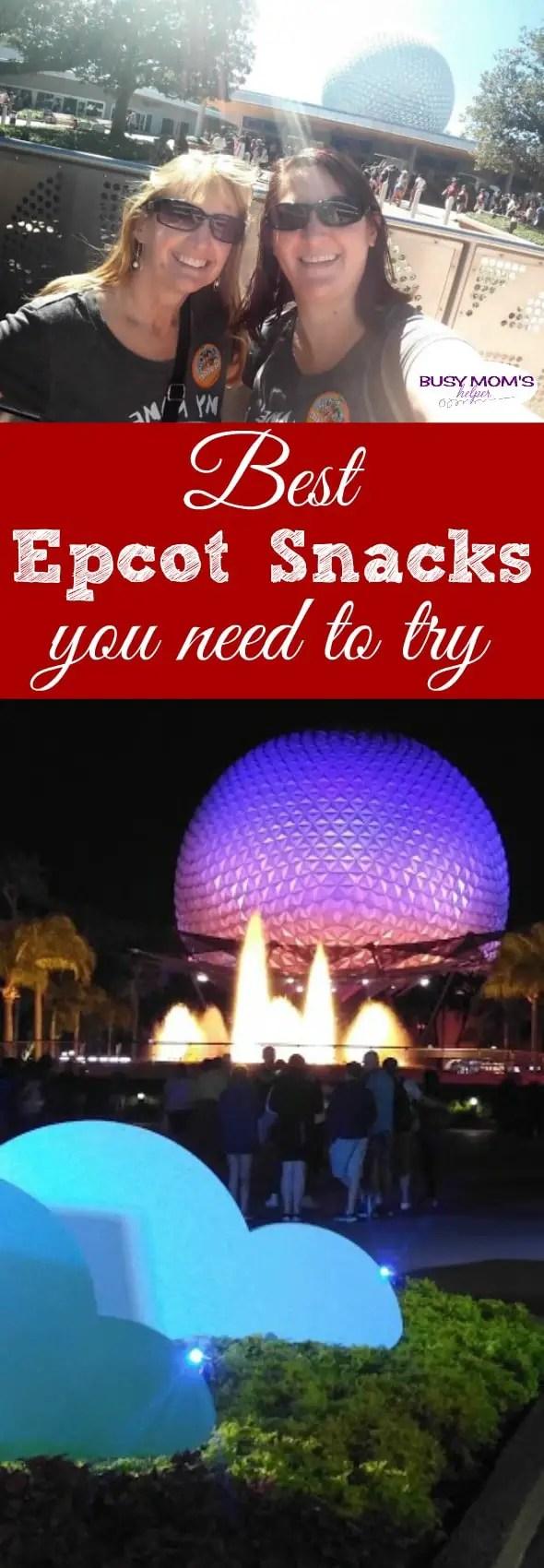 The BEST Epcot Snacks you need to try #epcot #waltdisneyworld #wdw #travel #familytravel