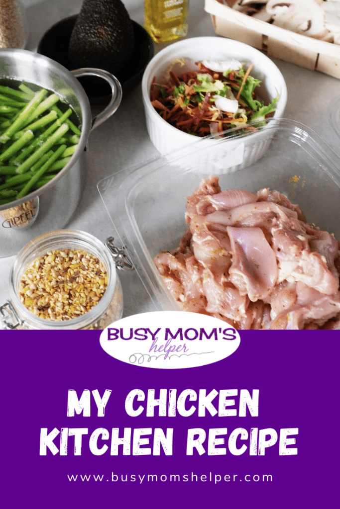 My Chicken Kitchen Recipe