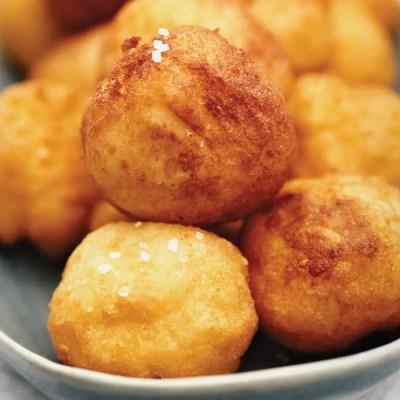 Crispy and Creamy Puff Potatoes