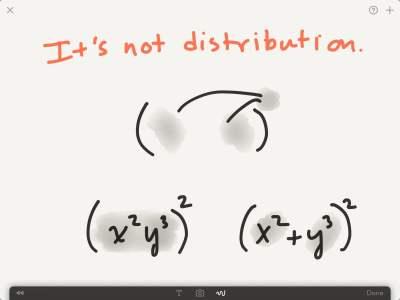 not-distribution