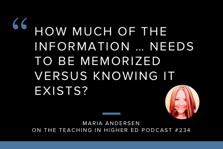 Teaching in Higher Ed Podcast about ESIL Lens