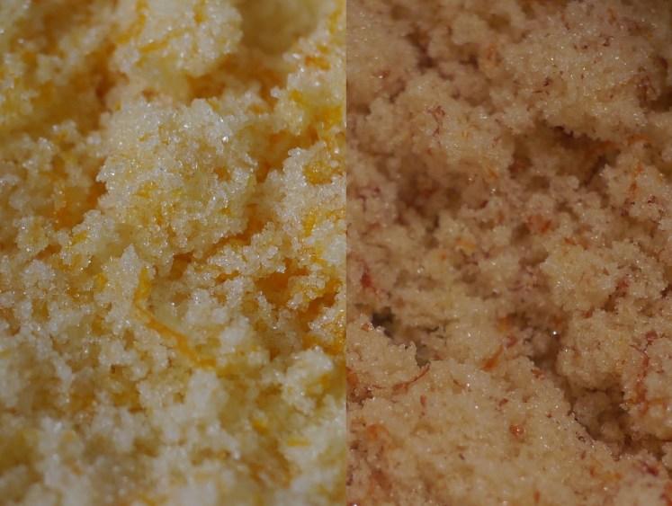 Orange Sugar Mixtures
