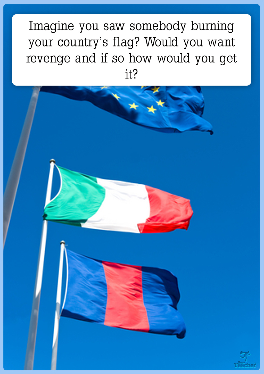 Your Country S Flag Creative Writing Prompt