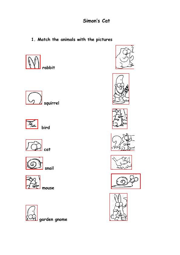 Coloring Worksheet Simon S Cat