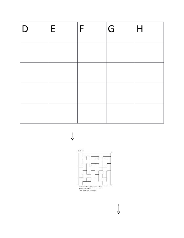 Capital Letters Handwriting Worksheet D H