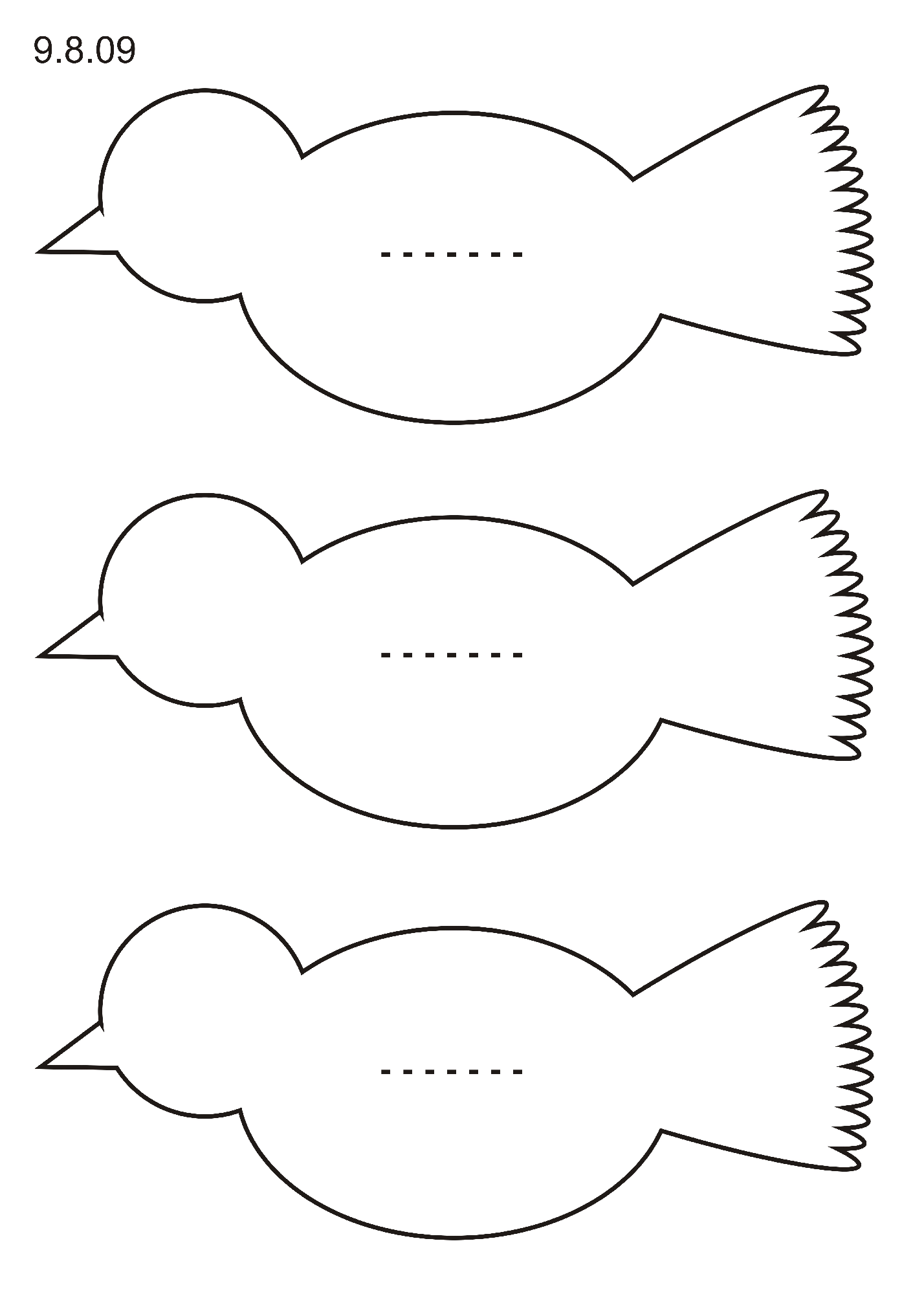 Bird Shape
