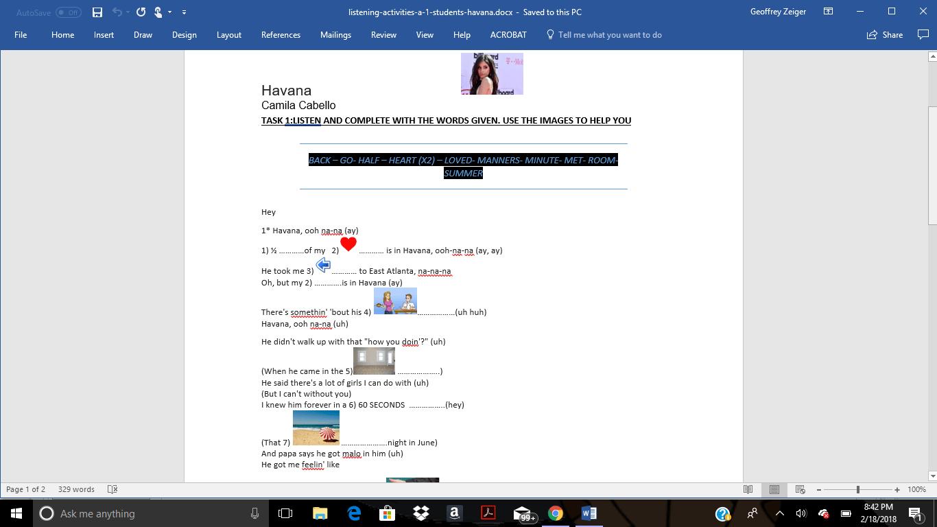 2 950 Free Listening Worksheets