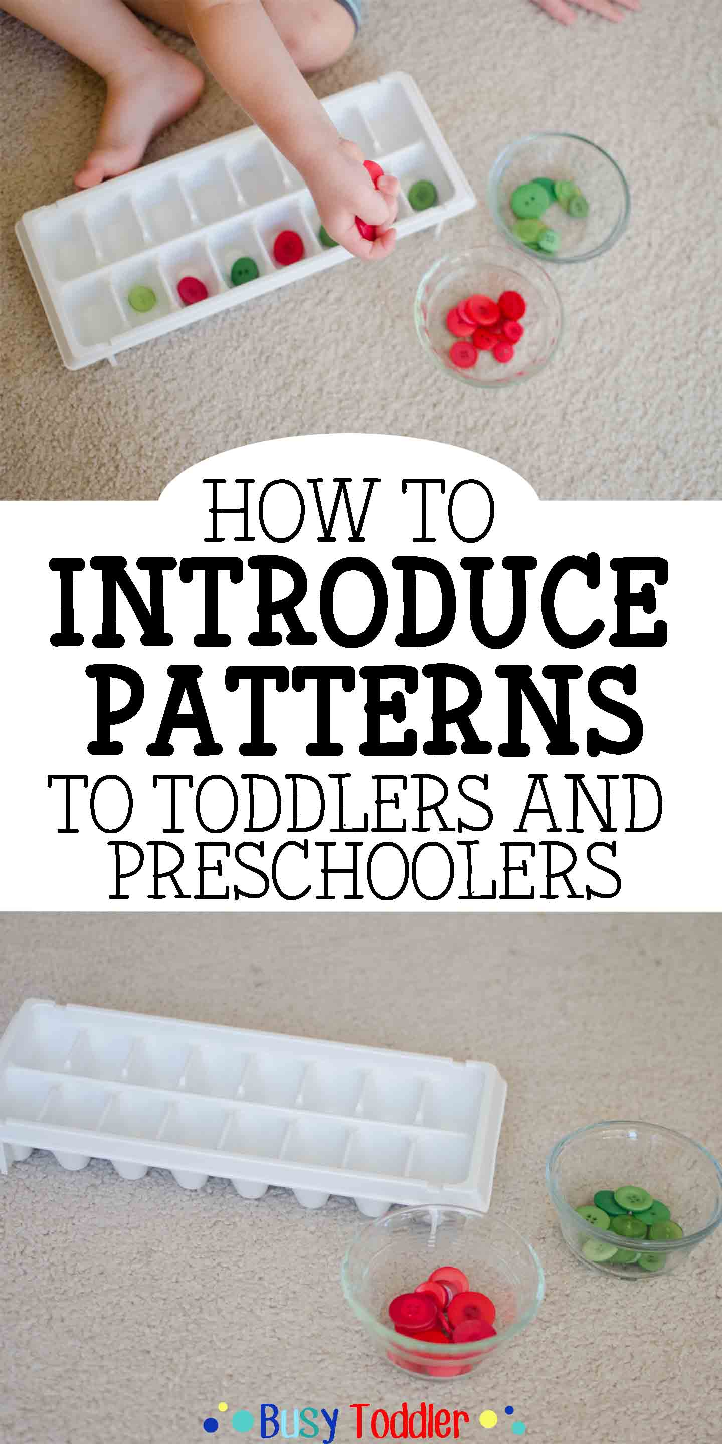 Introducing Patterns To Toddlers Amp Preschoolers