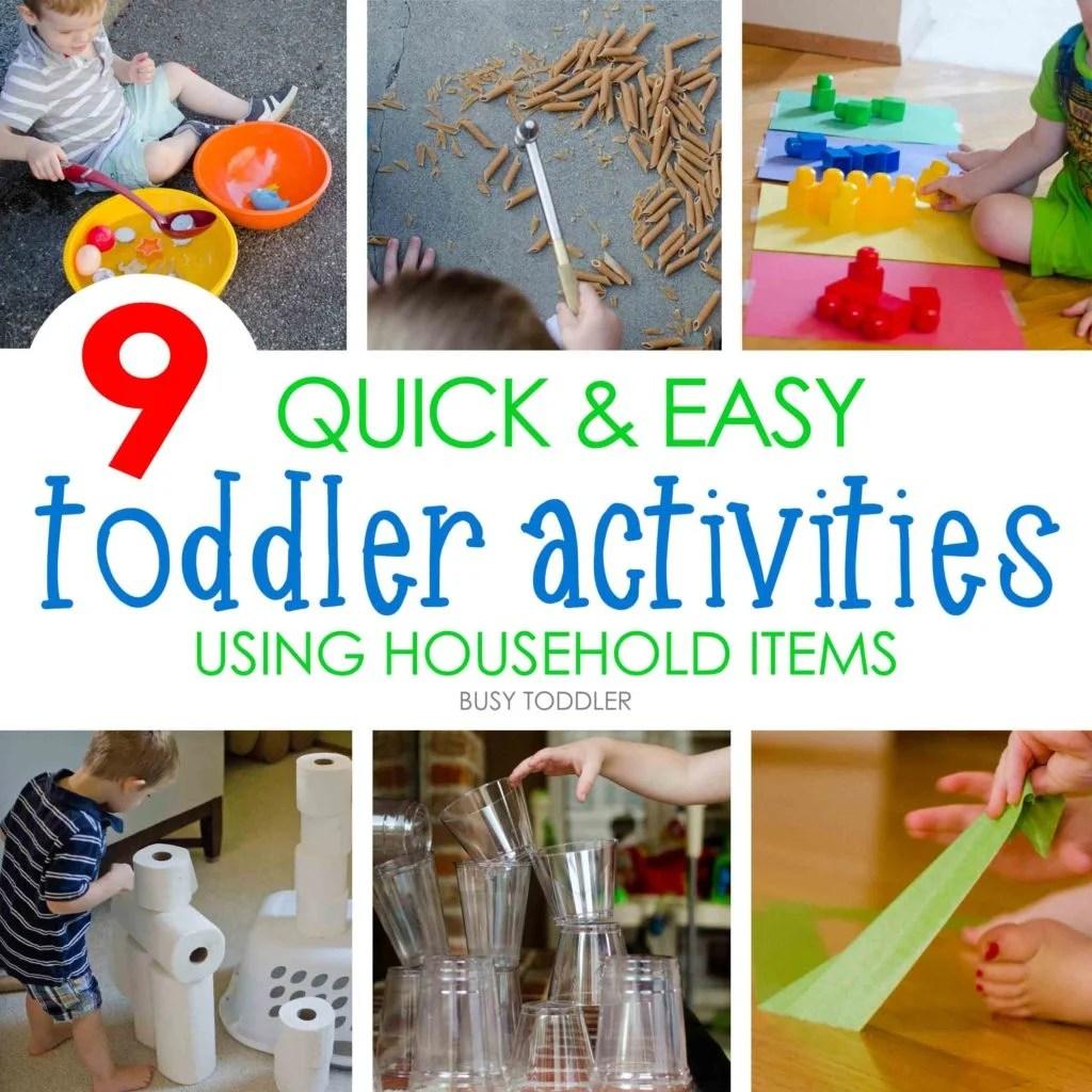 9 Quick Amp Easy Activities