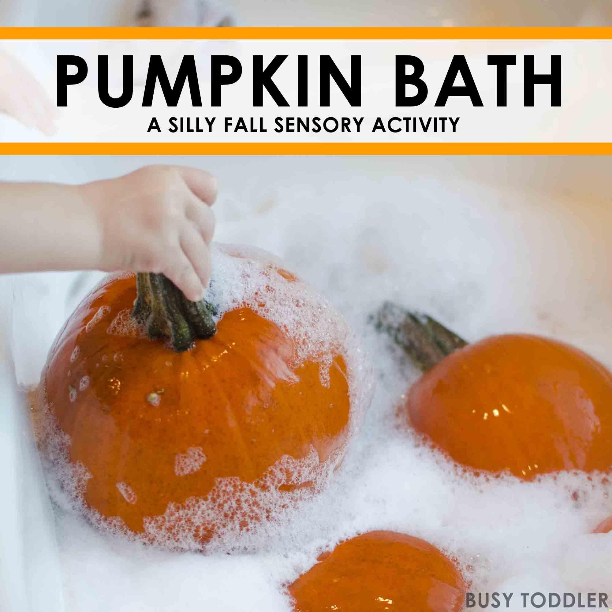 Sensory Fun With Pumpkins
