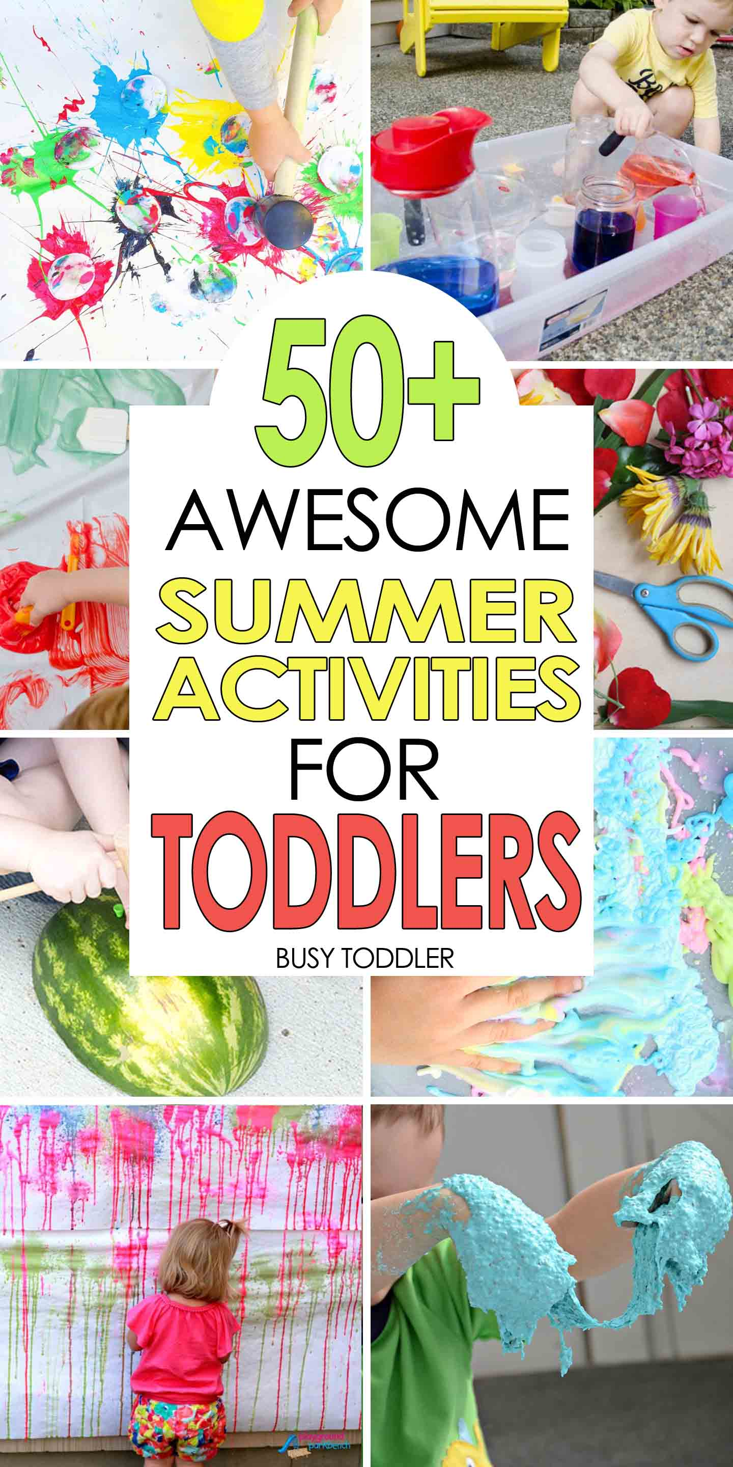 50 Awesome Summer Activities For Toddlers