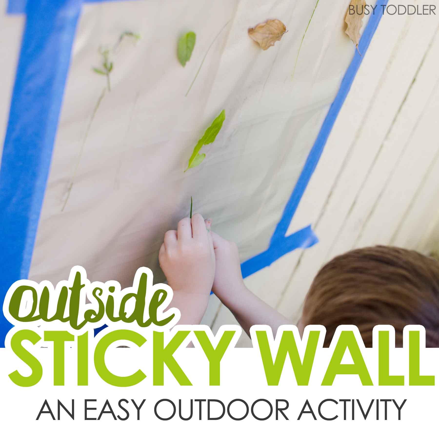 Outside Sticky Wall