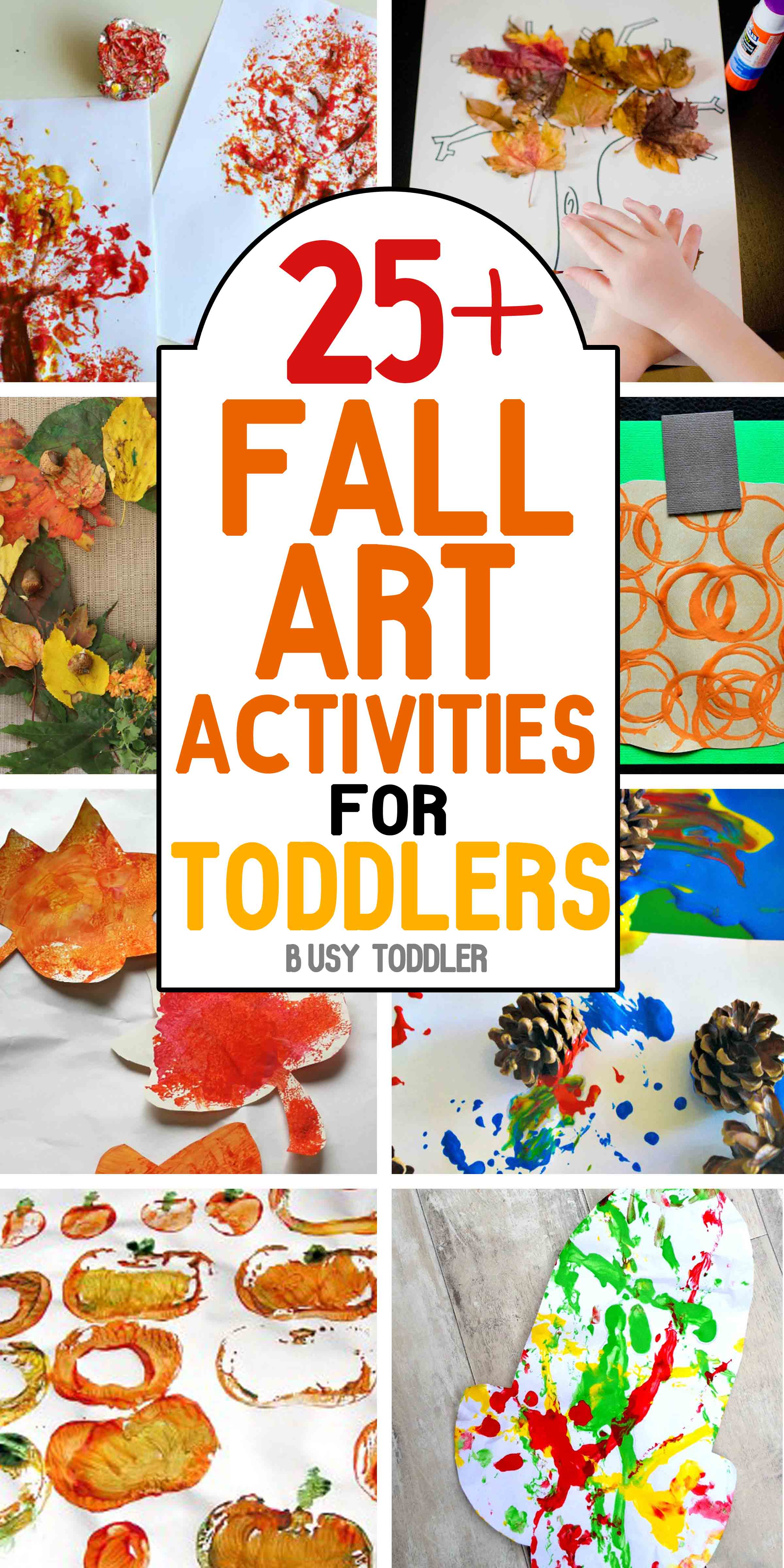 50 Awesome Fall Activities For Toddlers