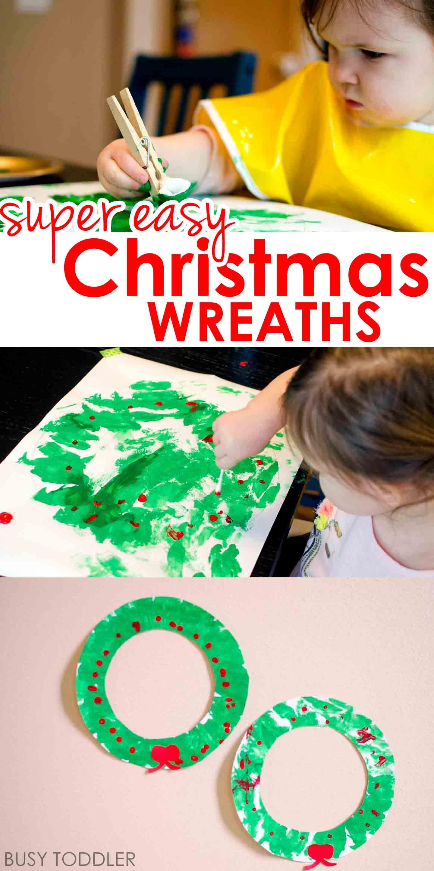 Easy Christmas Wreath Activity
