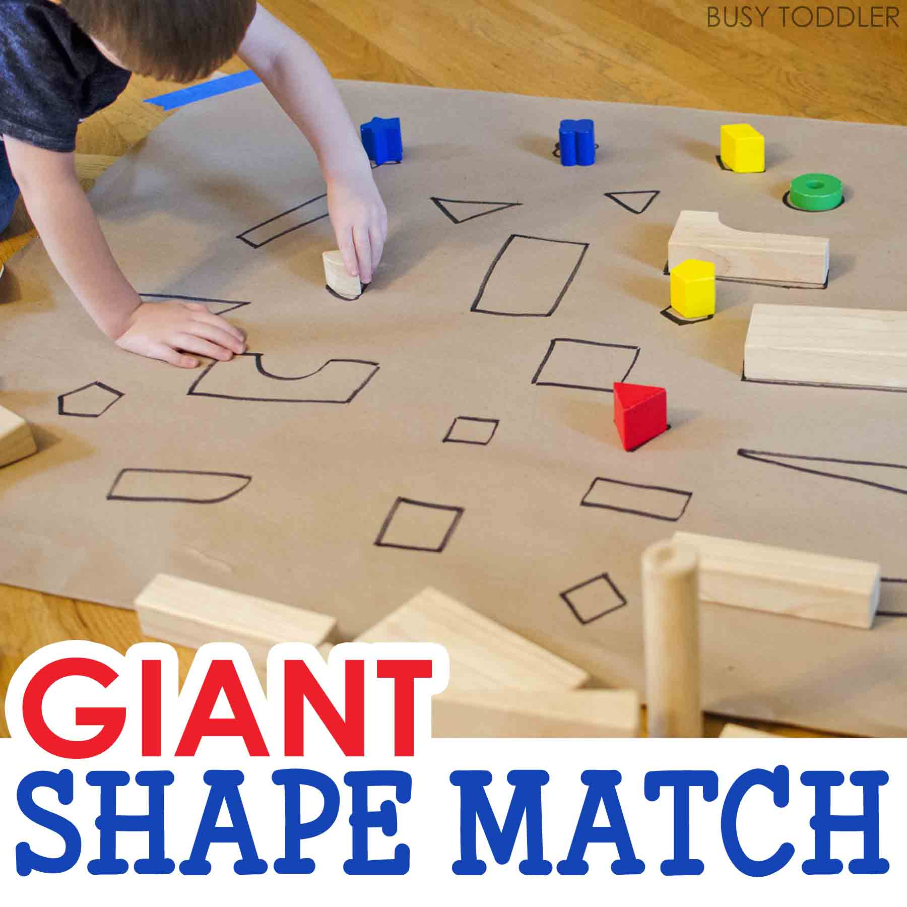 Giant Shape Match Activity