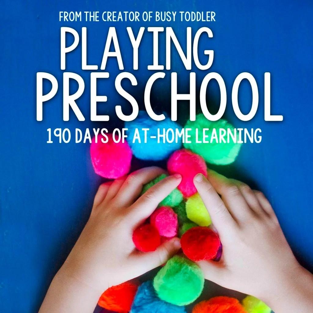 Homeschool Preschool The Playing Preschool Program