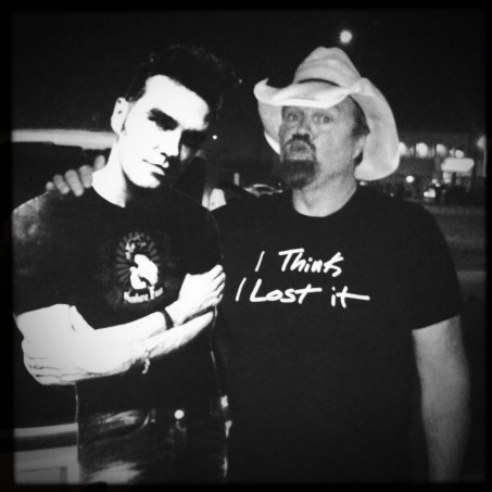 Hanging out with Morrissey