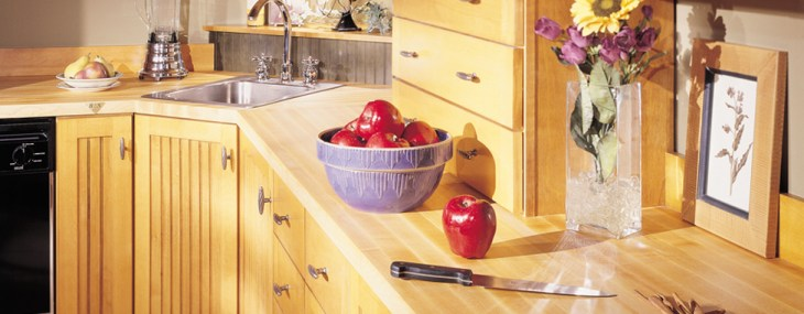 Butcher Block Countertops Are An Affordable Option