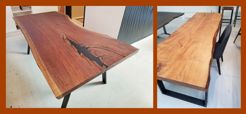 created hardwood tables