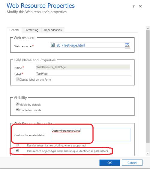 Html Webresource, Classic UI vs UCI – story of broken functionality