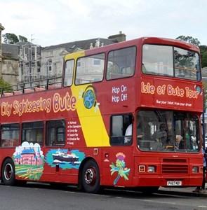 Open Top Bus Tour!