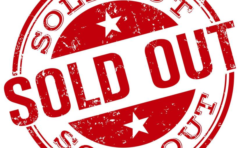 Sold Out Events!