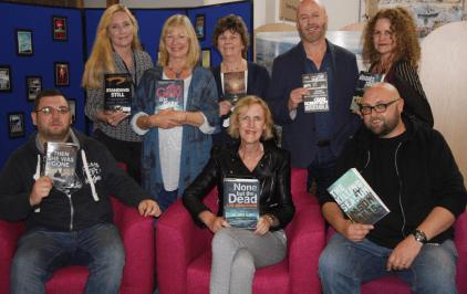 The authors at Bute Noir 2017