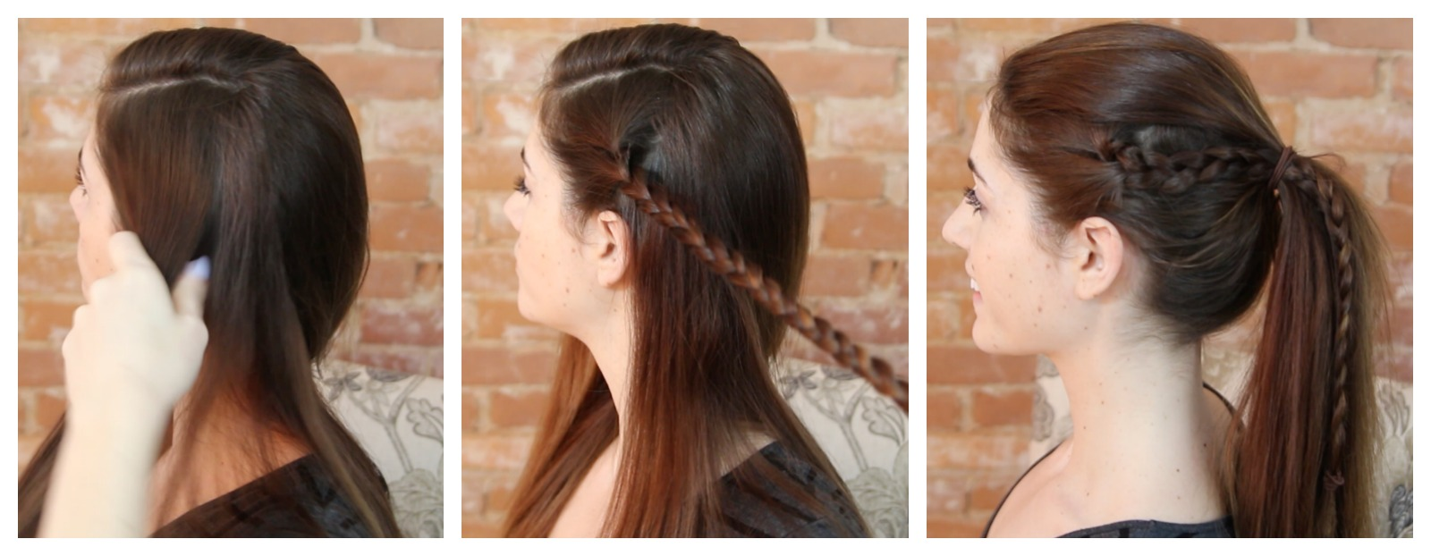 Different Ponytail Ideas - Braided Ponytail How To