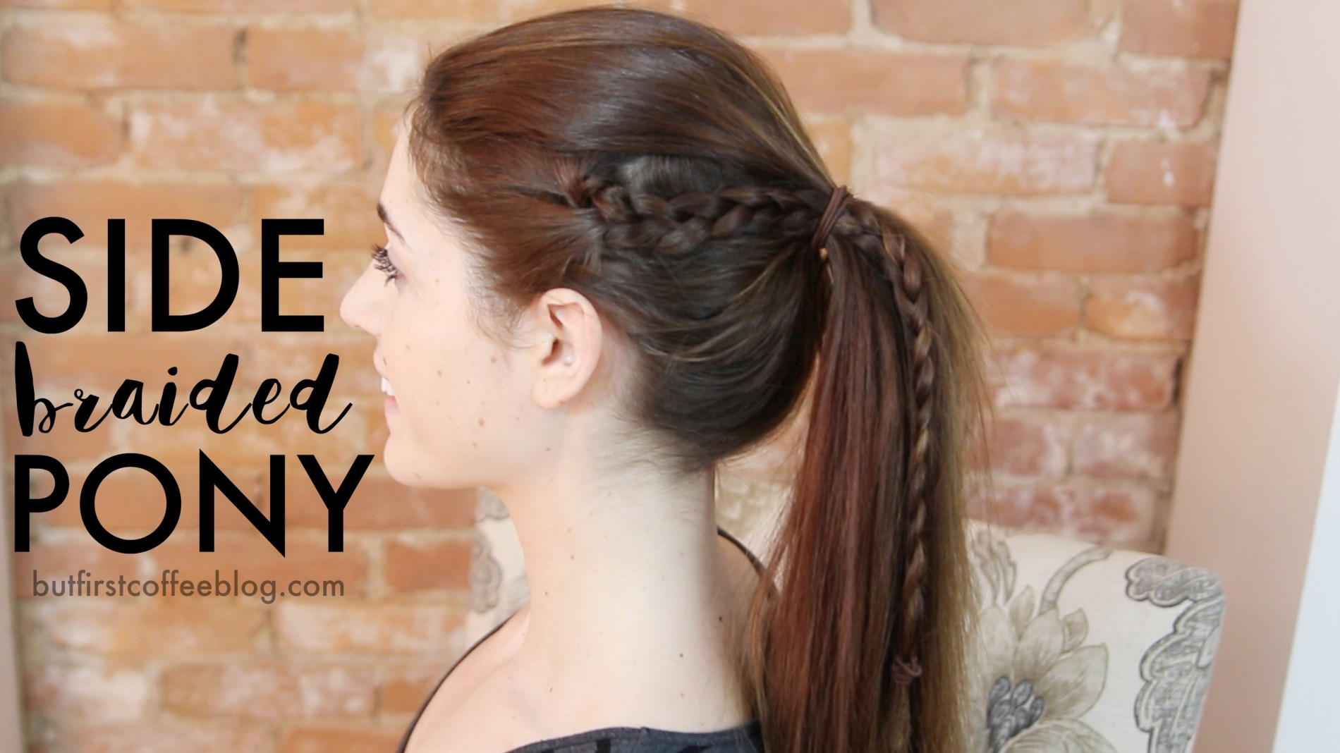 Different Ponytail Ideas - Braided Ponytail